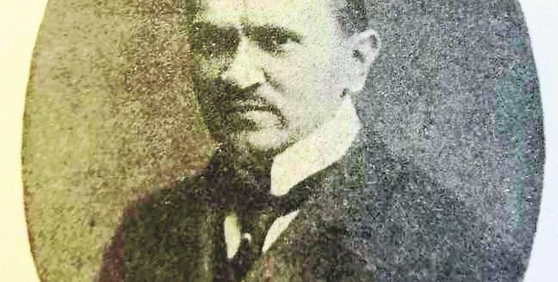Wicewojewoda białostocki Jan Kołek, bohater afery meblowej z września 1923 roku. Za Białystok Ilustrowany.
