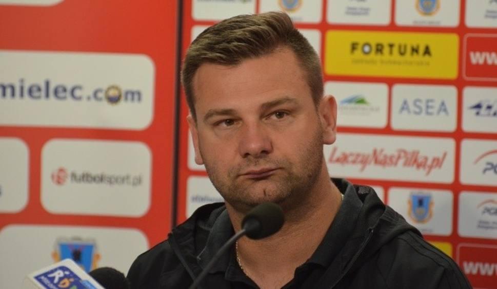 Film do artykułu: Adrian Stawski, trener Bytovii po meczu ze Stalą Mielec. Gratuluję mojemu zespołowi. Przed meczem ten punkt brałbym w ciemno [WIDEO]