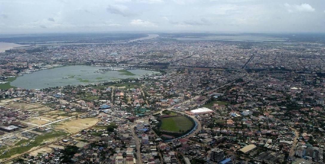 Phnom Penh, stolica Kambodży