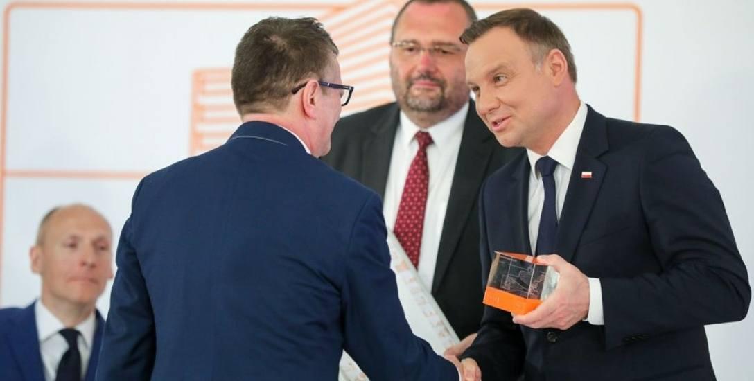 Wyróżnienie dla profesora Marka Wysockiego. Nagrodę przyznał prezydent Andrzej Duda
