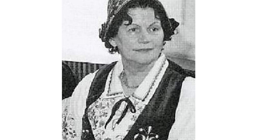 Stanisława Betyna - hafciarka