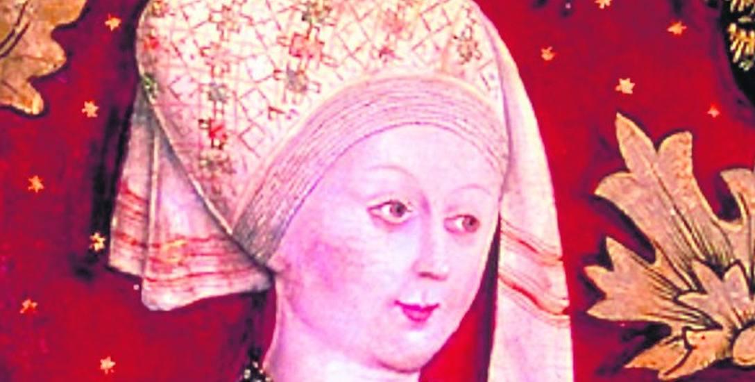I na portrecie, i w rzeczywistości Agnieszka była piękną kobietą.
