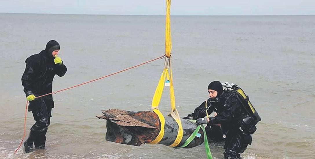 Trzy bomby na dnie Bałtyku. Ewakuacja w Kołobrzegu