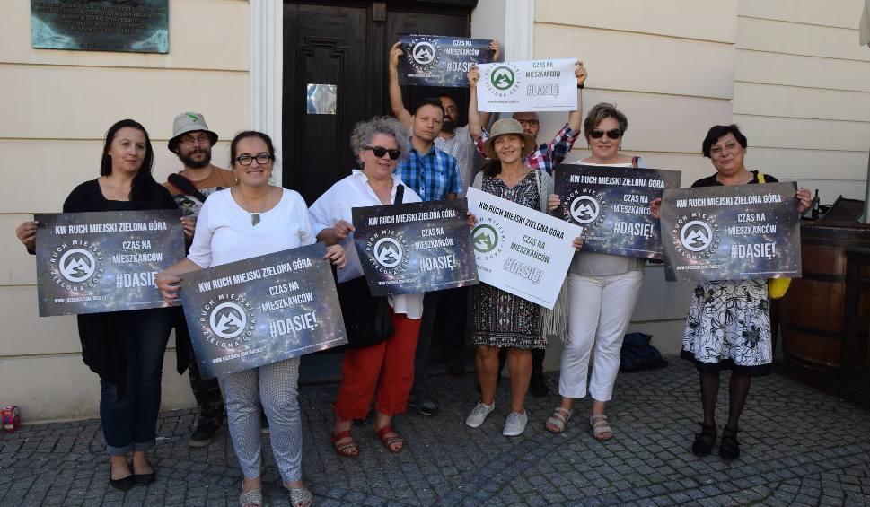 Film do artykułu: WYBORY SAMORZĄDOWE 2018. Ruch Miejski Zielona Góra chce zmiany rządzenia miastem