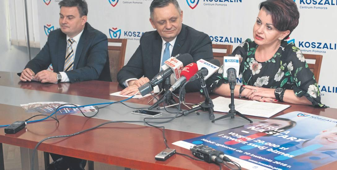 - Zachęcamy do udziału także osoby spoza Koszalina, pod warunkiem, że mają pomysł na działalność w naszym mieście - mówi Joanna Piotrkowska-Ciechoms