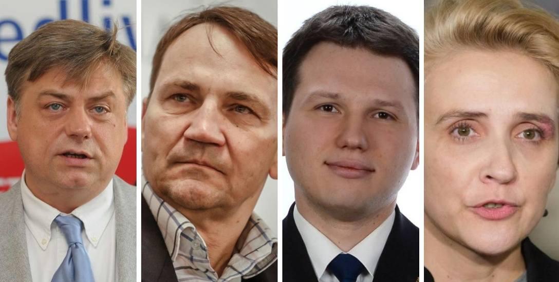 """Kosma Złotowski jest """"jedynką"""" PiS do europarlamentu w regionie. Radosław Sikorski ma otwierać listę Koalicji Europejskiej. Sławomir Mentzen jest kandydatem"""