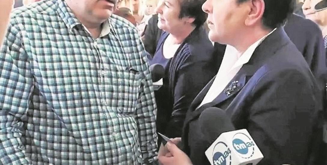 Jakub Owsianka podczas spotkania w Krościenku apelował do wicepremier Beaty Szydło o pomoc dla niepełnosprawnych
