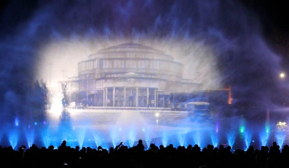 Film do artykułu: Rusza Wrocławska fontanna multimedialna przy Hali Ludowej [PROGRAM]