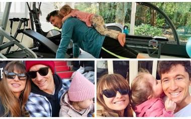 Anna, Robert, Klara i Laura, czyli piękno, urok i wdzięk rodziny Lewandowskich [zdjęcia]