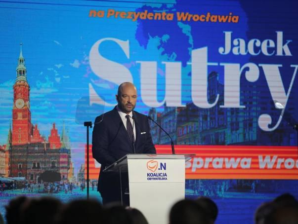 Z naszego sondażu wynika, że pierwszą turę wyborów we Wrocławiu wygra Jacek Sutryk