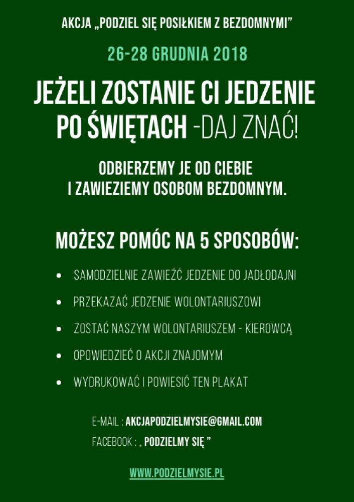 62f521b47a Zostało Ci jedzenie po świętach  Podziel się! - NaszeMiasto.pl