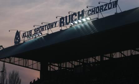 Trybuna stadionu Ruchu Chorzów.