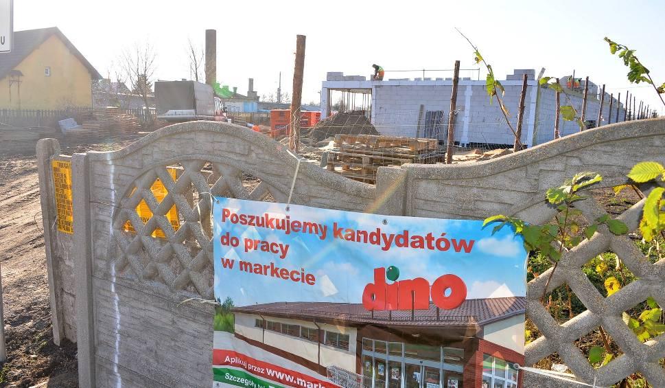 Film do artykułu: Market Dino powstaje w Baćkowicach. Pracę znajdzie od 13 do 15 osób