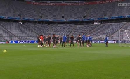 Trening Realu Madryt przed meczem z Bayernem Monachium