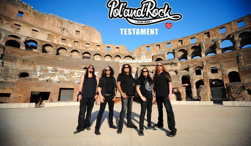 Film do artykułu: PolAndRock Festiwal 2019 (Woodstock): wystąpi zespół Testament. To legenda trash metalu
