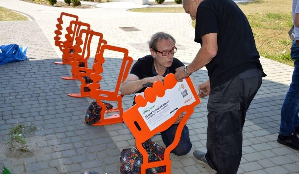Film do artykułu: Rowerzyści ze Stalowej Woli wyjeździli stojaki