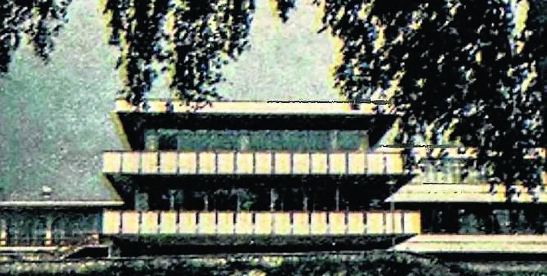 Fragment ośrodka wypoczynkowego Huty Katowice w Rogoźniku