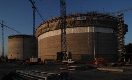 Budowa gazoportu w Świnoujściu: Drugi kolos zabetonowany