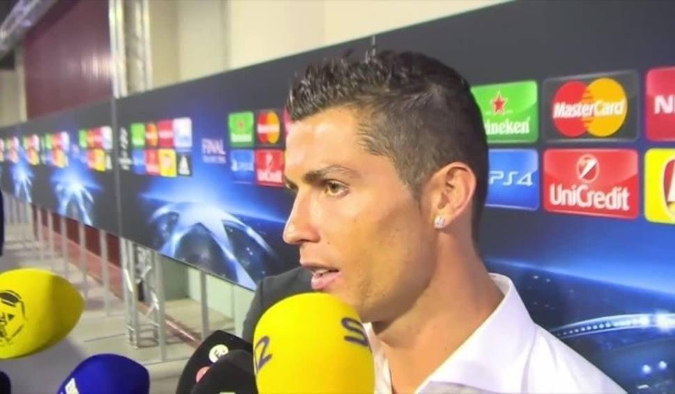 """Film do artykułu: Cristiano Ronaldo przewidział wynik finału. """"Czułem, że strzelę gola na wagę zwycięstwa"""""""