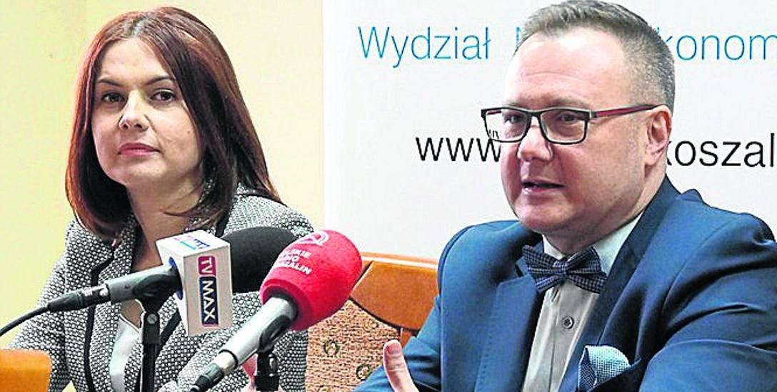 O raporcie mówił Robert Bodendorf, prezes ZZPP i Monika Foremna - Pilarska z Politechniki Koszalińskiej