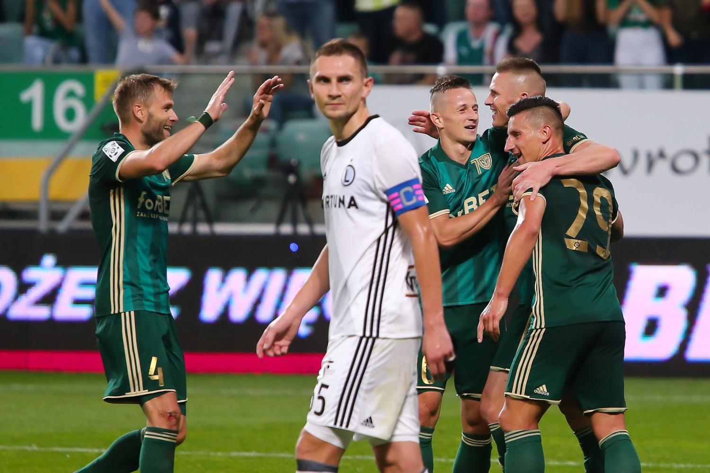 10 ostatnich meczów Śląska Wrocław z Legią Warszawa