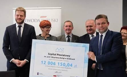 Umowę na słubicki SOR uroczyscie podpisano w urzędzie wojewódzkim w Gorzowie