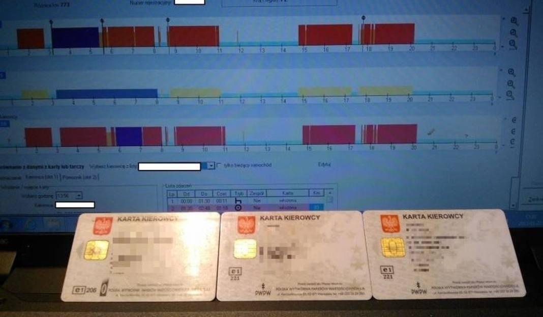 Jeden Kierowca Kilka Kart Do Tachografu Tirowcy Nie Odpoczywaja