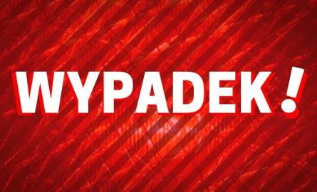 Siemień Nadrzeczny. Wypadek DK 63. Dwie osoby trafiły do szpitala