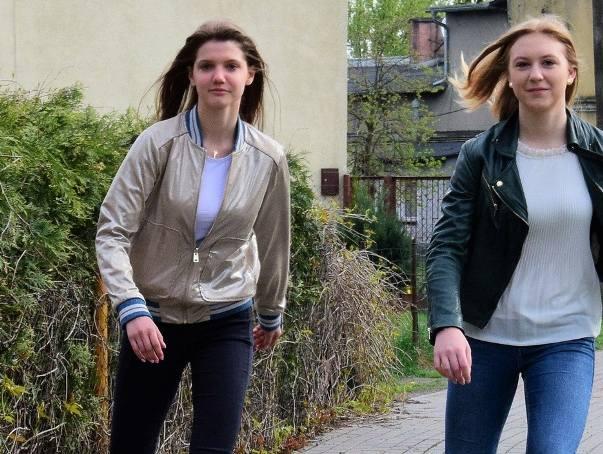 Dominika Nadolska i Natalia Perlikowska, bohaterki z Pakości