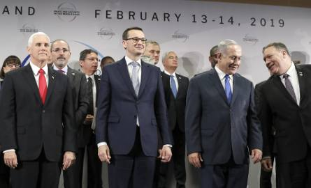 Konferencję bliskowschodnią zorganizowały rządy Polski i USA. Obecni byli przedstawiciele m.in. krajów arabskich i Izraela