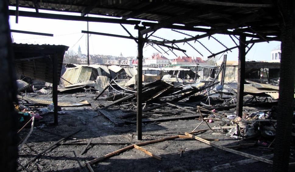 Film do artykułu: Śledztwo w sprawie pożaru targowiska przy ul. Ruskiej. Sprawca nie wykryty