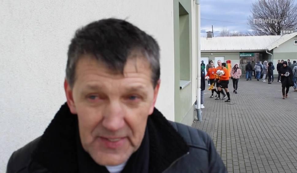 Film do artykułu: Trener Piasta Tuczempy, Marek Strawa przyznaje, że zawsze ciężko jest się pogodzić ze straconą bramką w ostatnich fragmentach meczu [WIDEO]