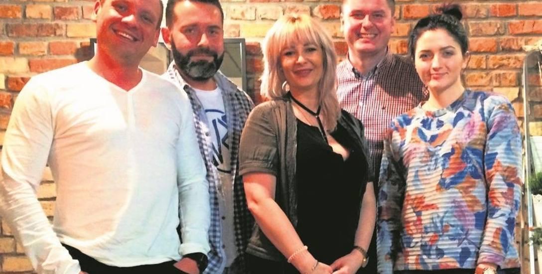 Podlascy Aniołowie, czyli (od lewej): Stefan Sochoń, Michał Mroczkowski, Sylwia Rudnicka, Wojtek Kulikowski i Justyna Gościewska