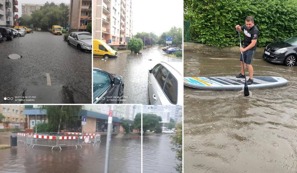 Film do artykułu: Ulewa i zalane ulice w Szczecinie! Ogromne utrudnienia, wiele dróg jest zalanych. WIDEO i ZDJĘCIA – 30.06.2021