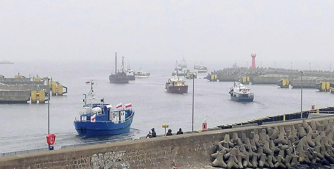 Ten protest może przybrać na sile. Armatorzy grożą blokadą strategicznych portów