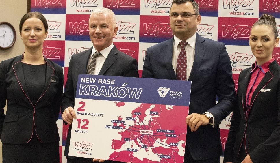 Film do artykułu: Wizz Air ogłasza otwarcie bazy w Krakowie i 12 nowych tras