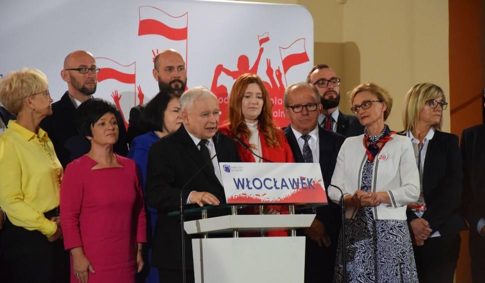 Film do artykułu: Jarosław Kaczyński we Włocławku. Konwencja Prawa i Sprawiedliwości [zdjęcia]