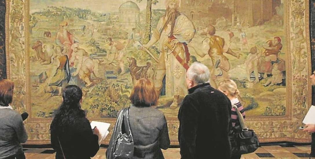 Arrasy są jednymi z najcenniejszych obiektów w zbiorach Wawelu