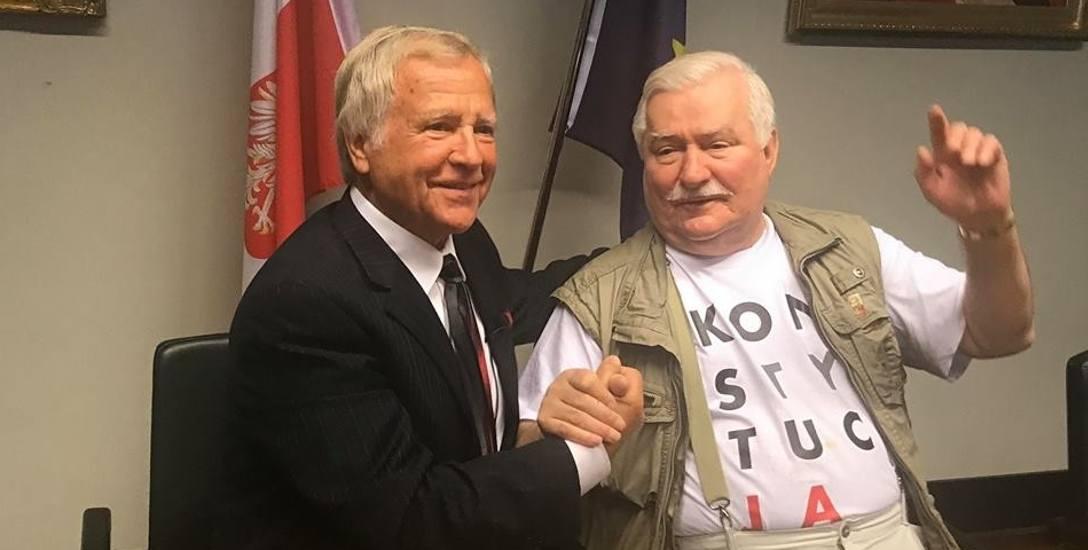 Spotkanie z Lechem Wałęsą było ostatnim punktem wrześniowej podróży Lewana po Polsce
