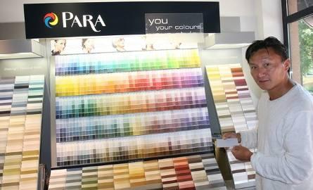 Bing Yang, dyrektor ds. eksportu firmy ParaDziałamy w Polsce już od 12 lat. Nasze farby sprzedawane są już w blisko 30 sklepach w całym kraju – teraz,