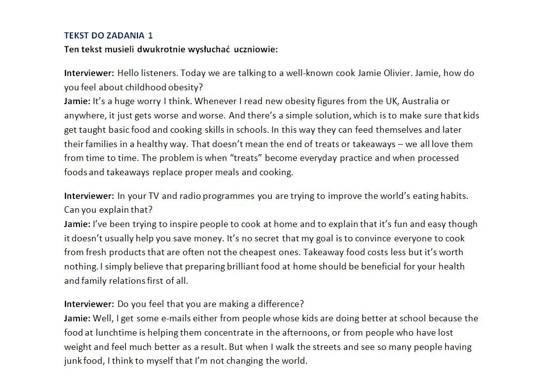 oxford matura trainer poziom rozszerzony odpowiedzi do zadań