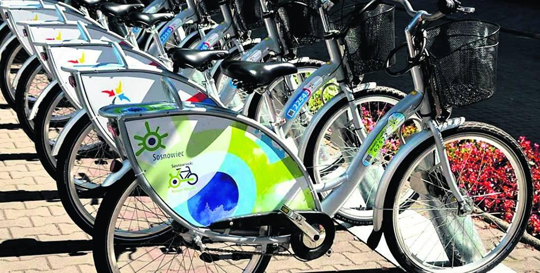 Jeden z sosnowieckich rowerów został podpięty do stacji rowerów miejskich w Świętochłowicach
