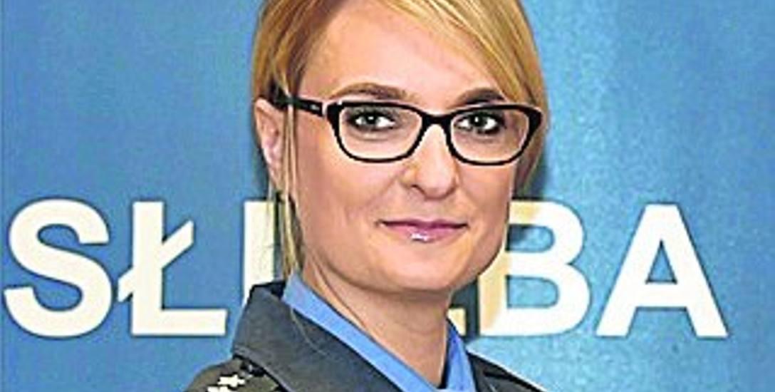 Ppłk Elżbieta Krakowska, rzecznik prasowy Dyrektora Generalnego Służby Więziennej