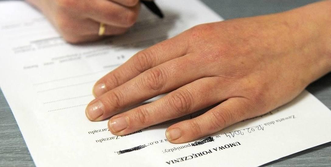 Umowy mające potwierdzać istnienie bankowego zabezpieczenia zostały sfałszowane