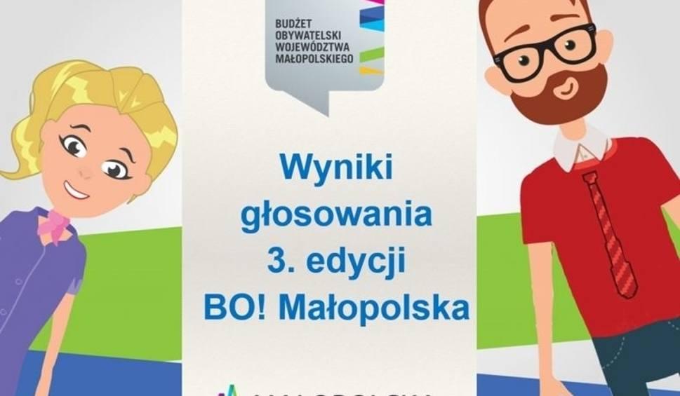 Film do artykułu: Znamy wyniki głosowania w ramach Budżetu Obywatelskiego Województwa Małopolskiego. Zobacz, jakie projekty będą realizowane w Twoim regionie
