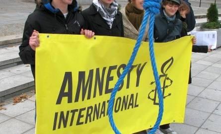Amnesty Inernational na placu Miejskim