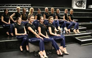 Finalistki konkursu Miss Opolszczyzny ćwiczyły układy choreograficzne.