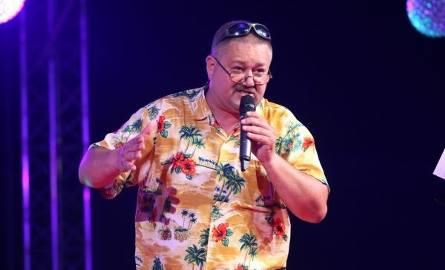 Tomasz Królak jak zwykle postawił na show.