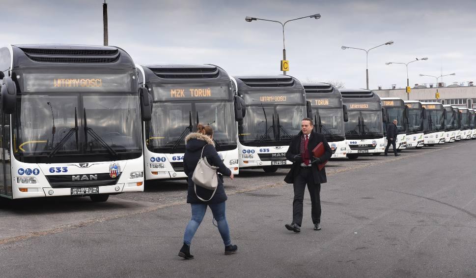 Film do artykułu: W piątek do Torunia powinien dotrzeć ostatni z zamówionych autobusów MZK