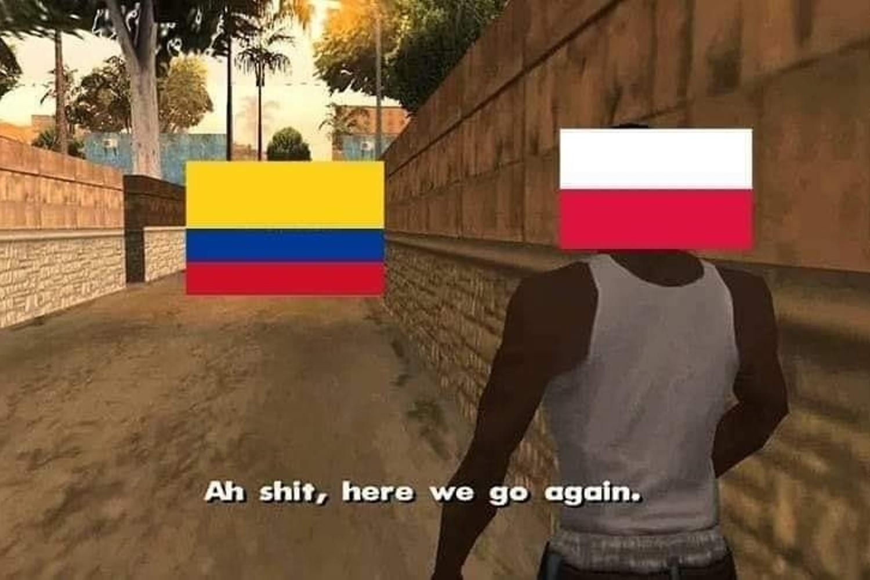 Znowu oni... Memy po meczu Polska - Kolumbia 0:2 [GALERIA]